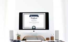 Images, SVG, and Canvas: Certificate of Completion